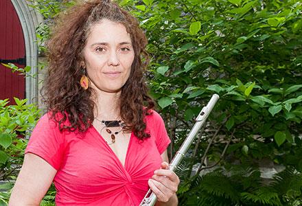 Annie Thibault, les Flûtistes de Montréal