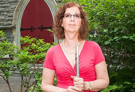 Sylvie Ouellette, ancienne membre de Les flûtistes de Montréal