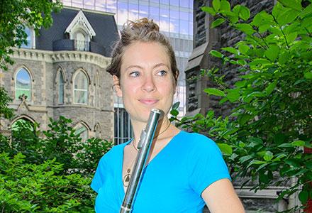 Maude Langevin-Charlebois, Les flûtistes de Montréal