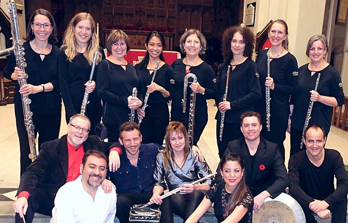 Les flûtistes de Montréal - DANZA ensemble